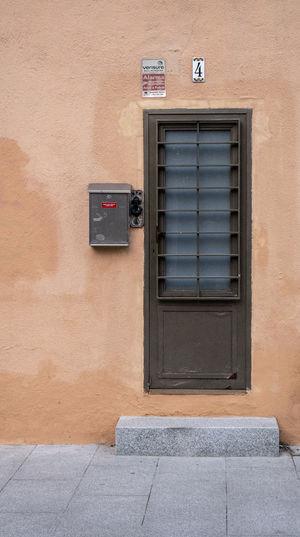 Architecture Barcelona Barcelona, Spain Bcn Building Exterior Built Structure Day Door House No People Outdoors Shutter