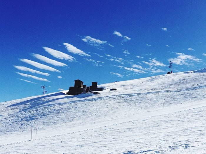 Lovely day today for skiing Sky Snow Santiago De Chile Laparva Skiing Clouds And Sky Clouds Chile