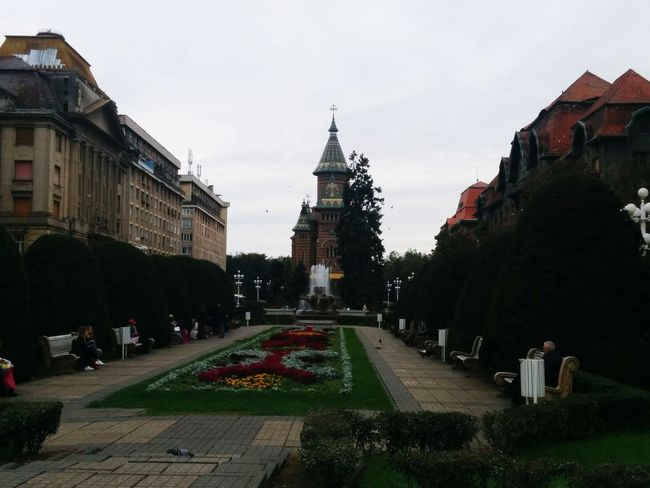 one of my fave view ever... Timisoara Orthodox Cathedral PiataVictoriei First Eyeem Photo