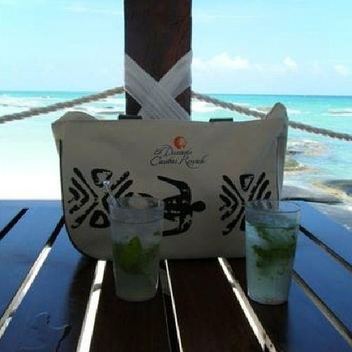 mojitos! Eldoradoroyale Mexico Mojitos Beachbag ocean needavacation again already