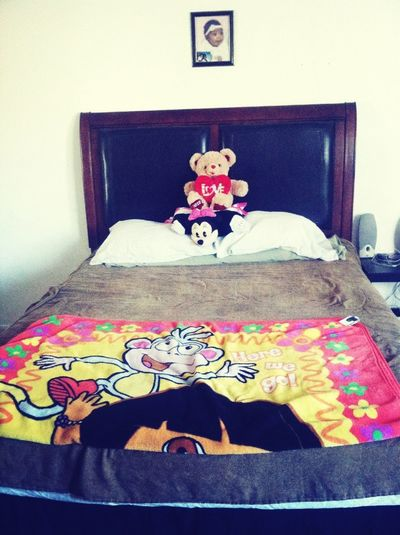 Got My New Bed ( : !