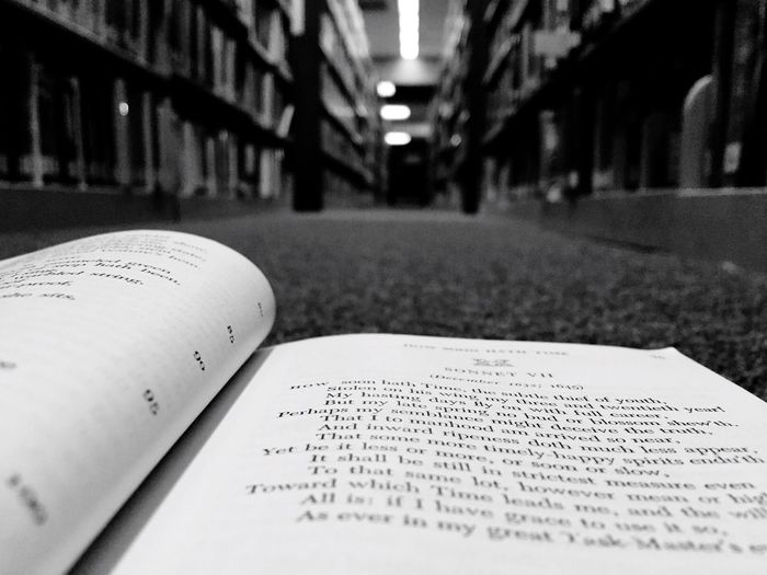 Drowning in ink. Books Pages Ink Blackandwhite Shelves Blackandwhite Lostinthelibrary Knowledge Learning Poetry Literature Low Angle View