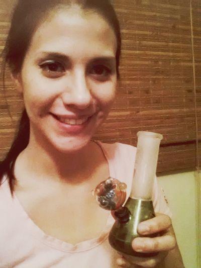 Bong Legalize Marijuana High Life Colors Changing Selfie ✌ Hi! Enjoying Life