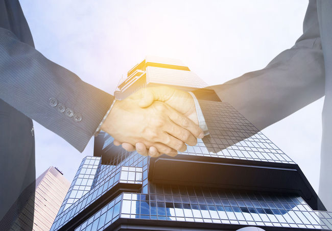 Collaboration Double Exposure Meeting Shaking Architecture Building Exterior Built Structure City Close-up Communication Connection Day Finance Handshake Human Hand Investment Low Angle View Marketing Modern Outdoors Partner Sculpture Shake Sky Statue