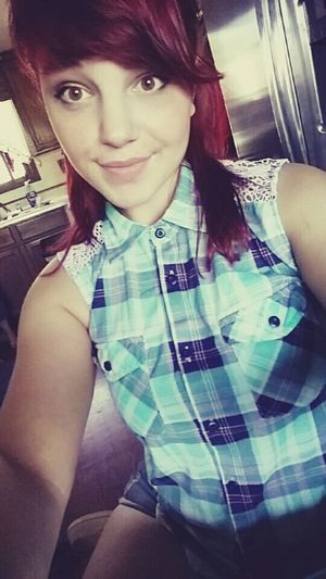 Check This Out Taking Photos Selfie Cute Brown Eyes! Red Hair Girl That's Me Lips