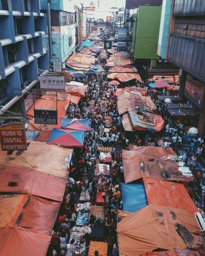 Chaos Streetphotography Eyeem Philippines Quiapo Market Philippines Crowd Manila