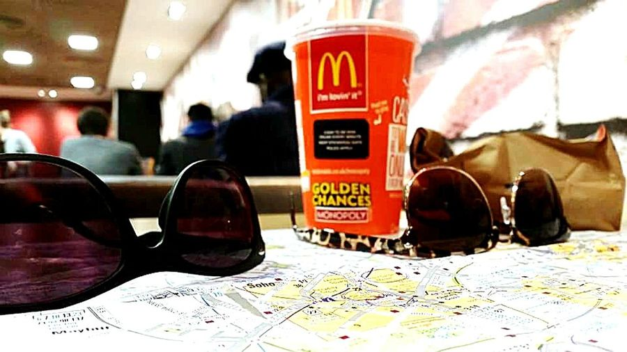 Starting A Trip From My Point Of View In The Mean Time EyeEm London Meetup Sunglasses McDonald's Finding New Frontiers