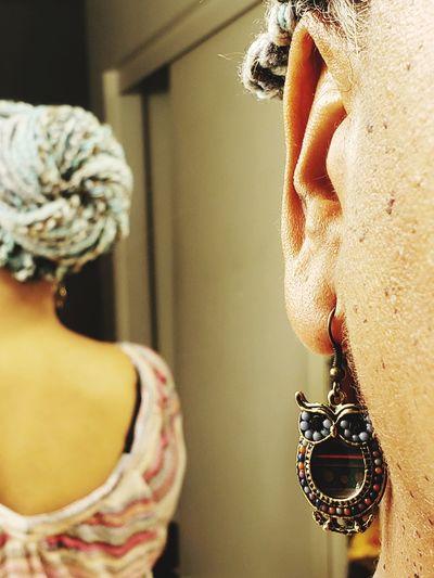 whooo hairdo Hair Yarn Braids Braids Individuals Blue Selfie ✌ Human Hand Luxury Fashion Young Women Jewelry Close-up My Best Photo