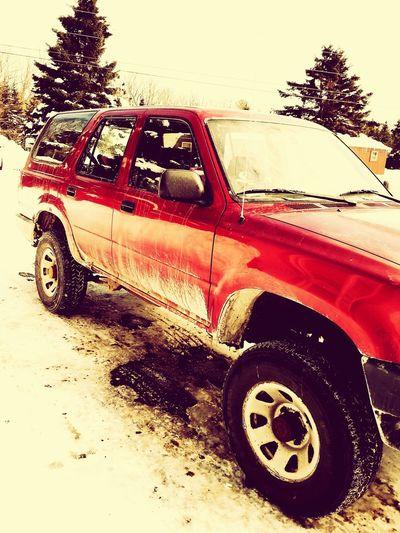 Toyota 4runner Red 1995 Newtome Toyota Loveit♥ MYTRUCKPICTURES Ilovemytruck