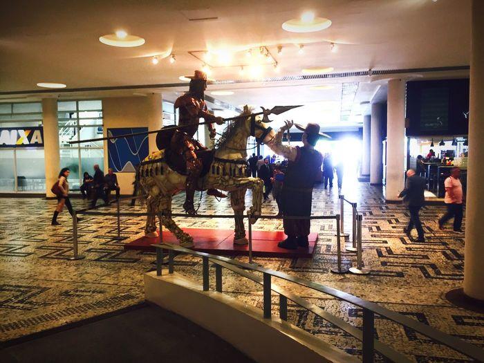 Conjunto Nacional São Paulo Dom Quixote Sancho Panza Don Quijote