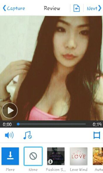 Makingvideo Sweet Moments Oops! Asian Girl Bossy Kiss Kiss Asian  Im