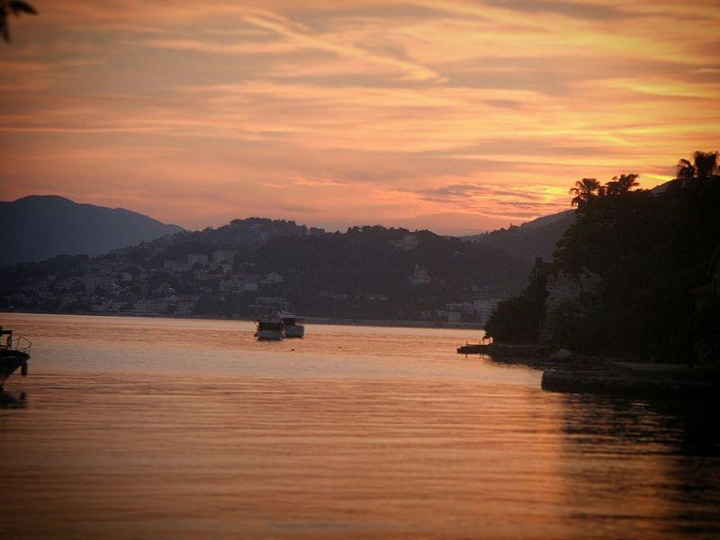 Amateurphotography Boka Kotorska Adriatic Coast Adriatic Sea Landscape #Nature #photography Sunset Peace And Quiet Beautiful Sunset Montenegro Beauty Of Montenegro Montenegro Wild Beauty
