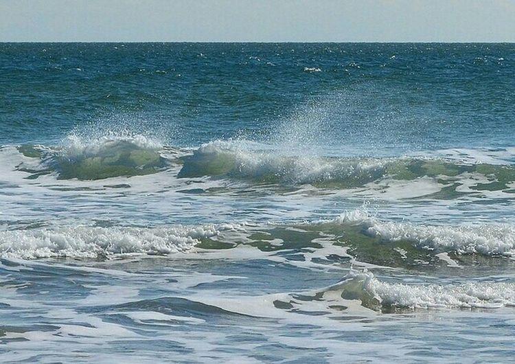 Winter Wave Winter Wave Wrightsville Beach North Carolina Atlantic Ocean Beach First Eyeem Photo The Great Outdoors - 2015 EyeEm Awards
