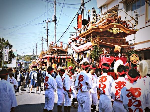It is a festival of Chiba Prefecture Tateyama Japan