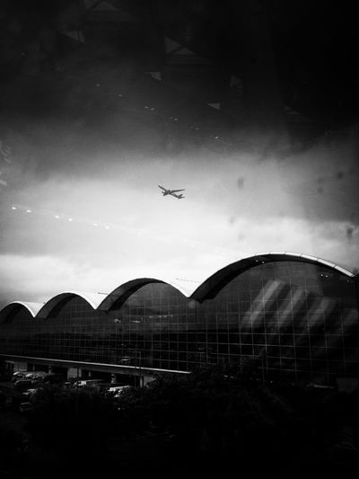 Architecture City HongKong Life Airport Architecture Blackandwhite Built Structure Flying Mobilephotography People Sky Street Streetphotography Town Transportation