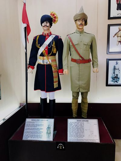 Uniform Indiansoldiers Khakiuniform