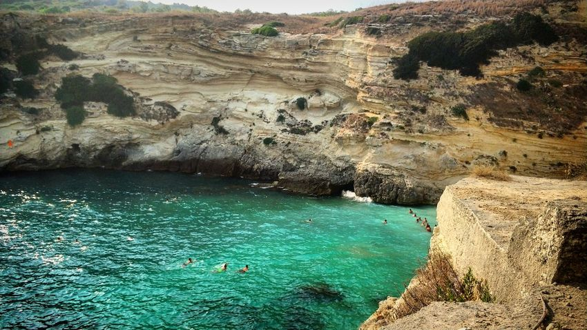 Water Day Nature Outdoors High Angle View No PeopleSea Salento Mare Nature Beauty In Nature Swimming Beauty In Nature Scenics Hot Spring Summer Italy Estate2017 Summer2017 Italia Puglia