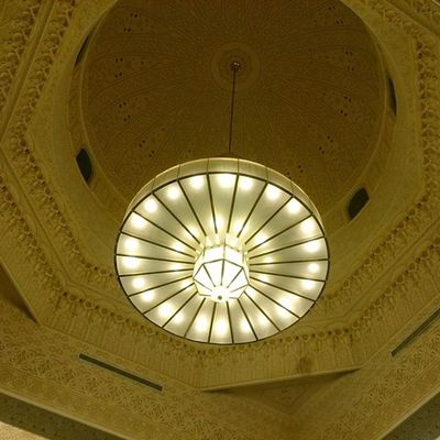 Hz339 Shj UAE Light masjed alnahda قبة ثريا