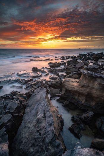 Sky Fire Sea