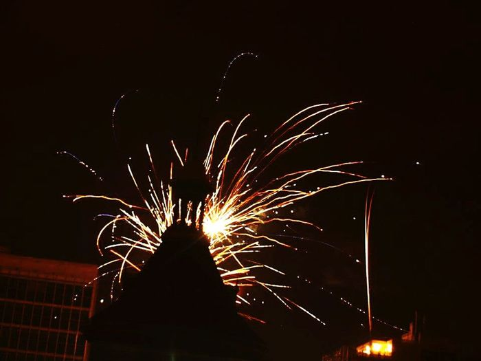 Showcase: January Firefighters Headquarters Endofyear New Year's Eve Fireworks Check This Out Historical Monuments Uruguay