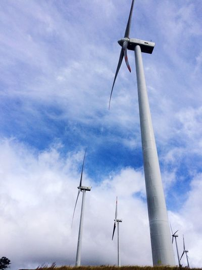 Don Quixote's worst nightmare. Wind Turbine Windmill Alternative Energy Low Angle View Day Outdoors EyeEmNewHere