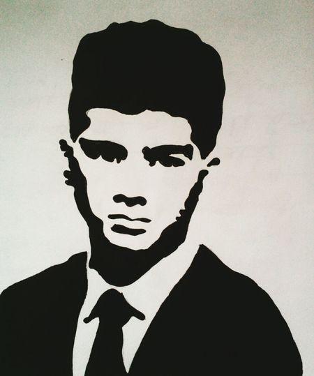 😄😃 Artoftheday ArtWork Artistic ArtPh Artist Singer  Zayn Malik ♥ Stencil Art