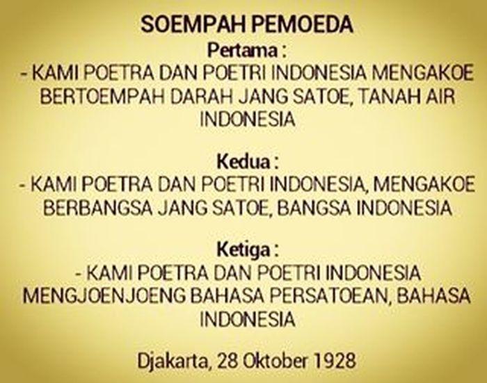 Pemuda Indonesia Bersumpah.. Pada tgl.28 Okt 1928. . . Sumpahpemuda NKRI INDONESIA Freedom 28okt2015 Untukindonesia