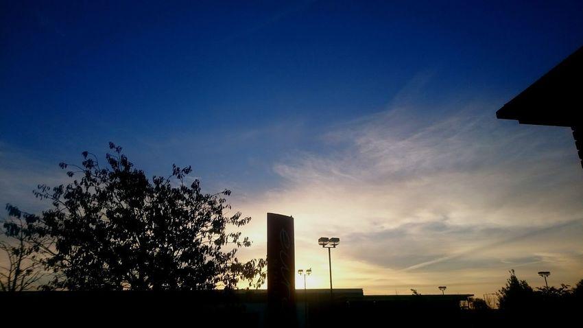 Early morning dawning
