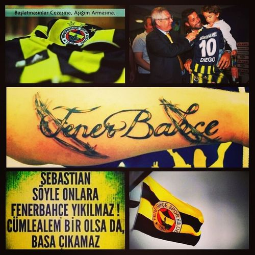 İyiki Fenerbahçe'liyim Fenerbahcem Haydifener