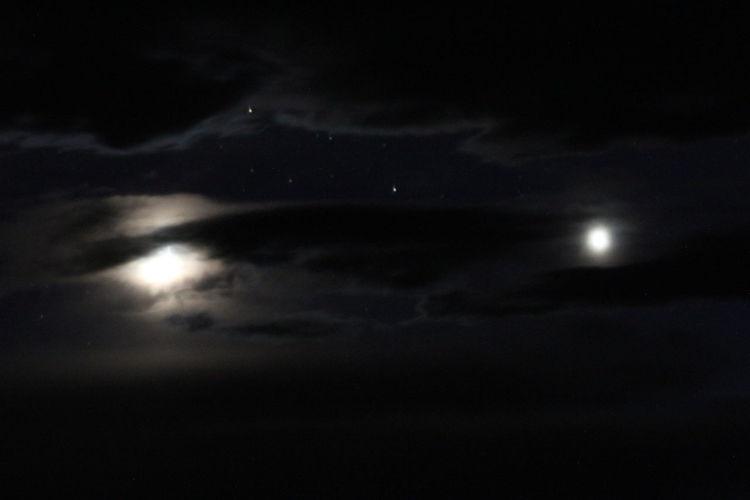 Spooky moon,