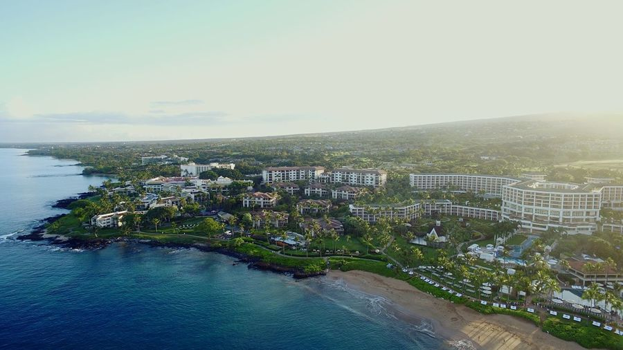 Been There. Aerial View No People Outdoors Travel Destinations Sea Beach Grand Wailea Been There.