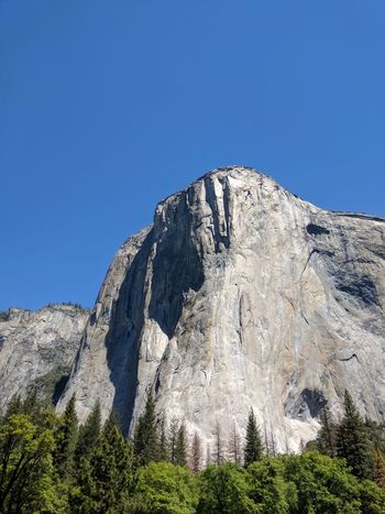 Outdoors Beauty In Nature Yosemite National Park Yosemite Valley Travel Destinations Iconic Landscape Scenics Spring Landscape Rock Granite Nature Sky Day Clear Sky No People