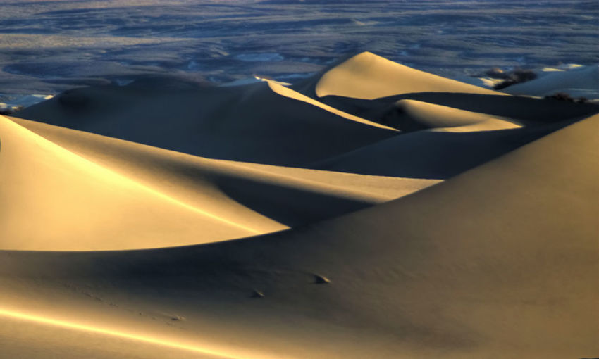 Death Valley Death Valley National Park Desert Desert Beauty Dunes Shadows Triangle 43 Golden Moments Pattern Pieces