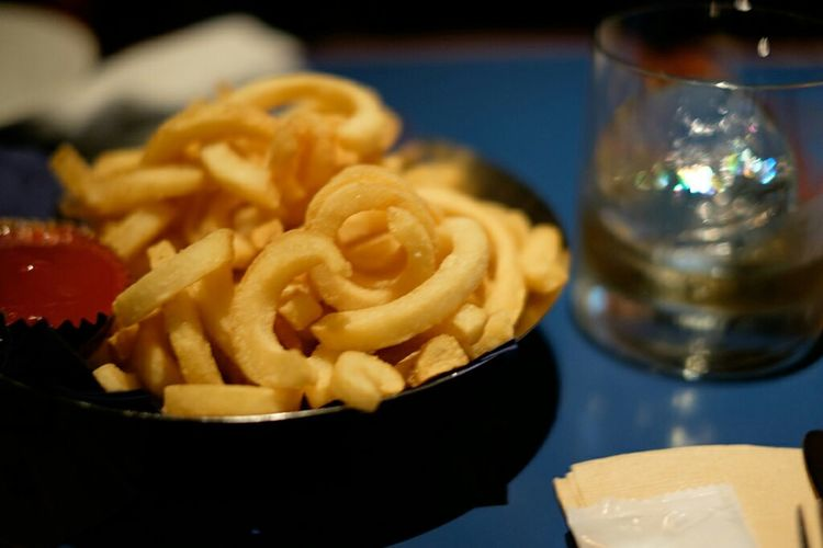 フライドポテト french fries Xf35 Fujifilm X-E2 BluenoteTokyo Fujifilm_xseries Fujifilm Fujixe2 Frenchfries Foodporn Foodphotography Fujifilmxe2