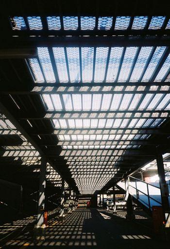 Kyoto Light And Shadow Contrast Streetphotography Minolta Minolta Tc-1 Filmcamera Parking Lot