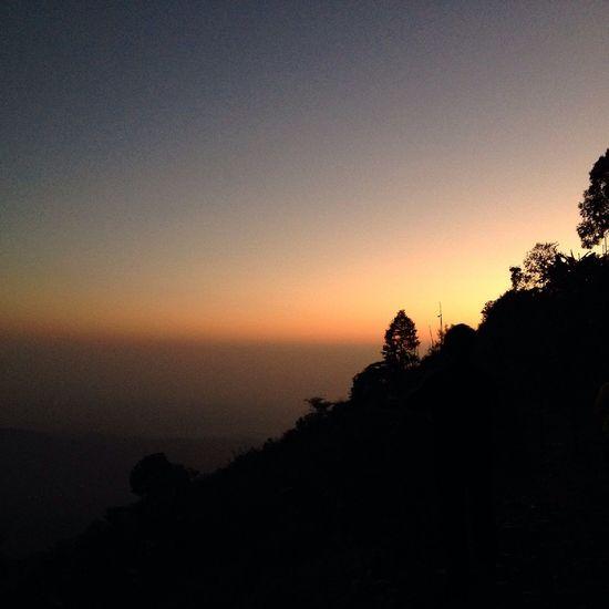 Good morning Landscape Sunset Monjam Chiang Mai | Thailand