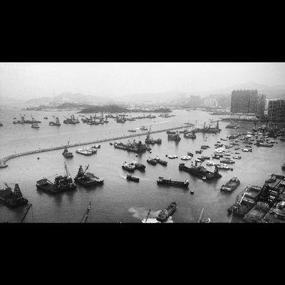 View from hotel HongKong ASIA