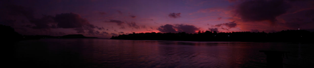 Panoramic view of Fatumaru Bay Sky_ Collection Sunset Nature EyeEm Nature Lover