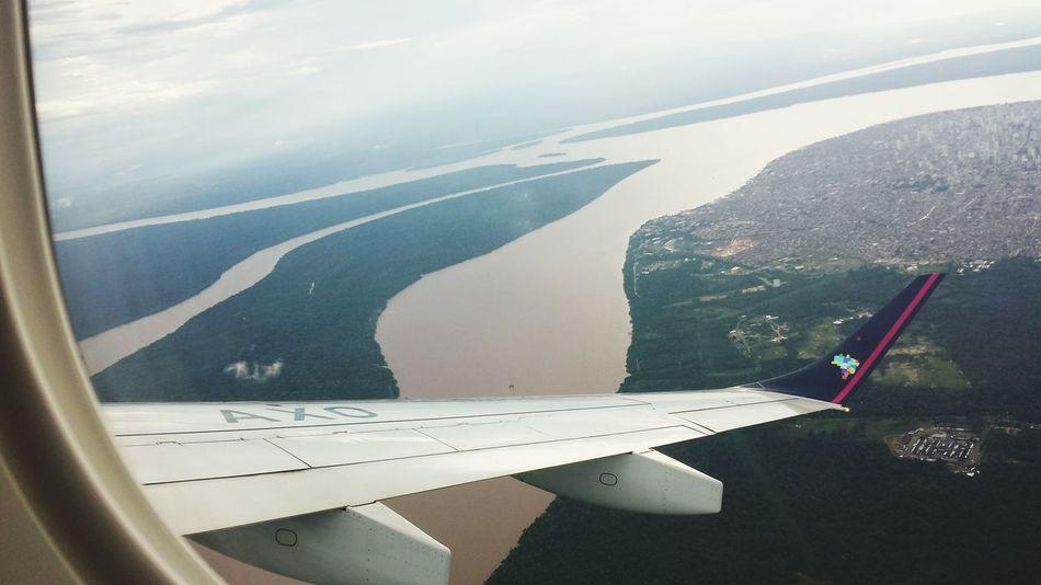 Vista de cima de Belém- PA