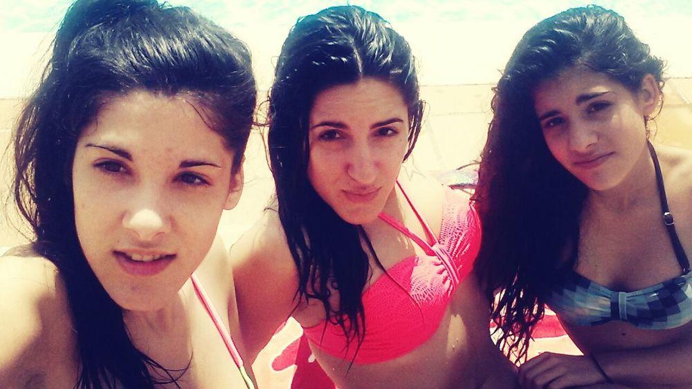 Summer'14 Swimming Pool Love ♥ My Sisters