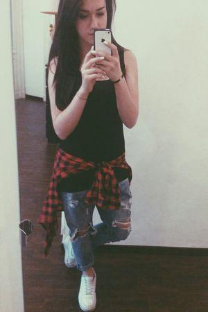 Mirrorselfie Boyfriend Jeans OneLove Ciaoproprio