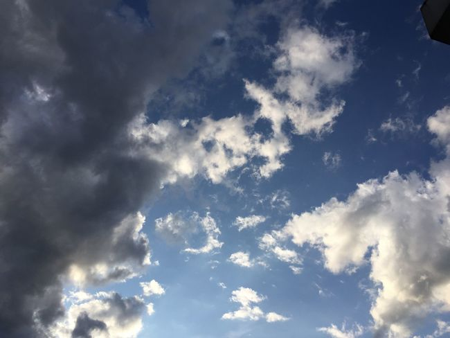 Sky in zhe evening valley of Rhine Sky Cloud - Sky Scenics Beauty In Nature Outdoors Blue Nature Tranquility Sky Only