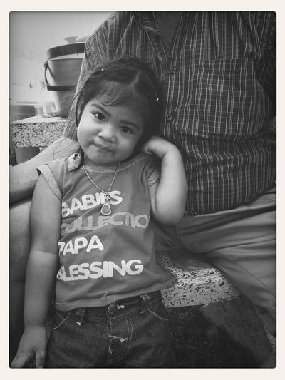 With you, I have no fear, grandpa. Little Girl Cute