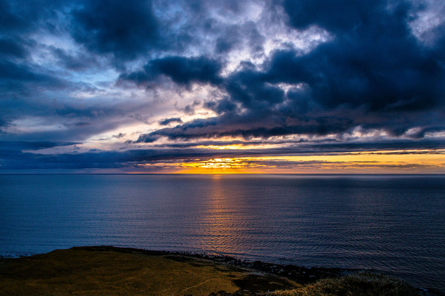 Iceland Beach Beauty In Nature Cloud - Sky Day Horizon Over Water Idyllic Nature No People Outdoors Scenics Sea Sky Sunset Tranquil Scene Tranquility Water