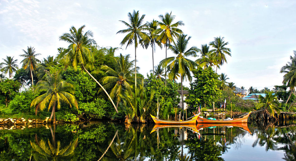 Fisherman Village Reflection
