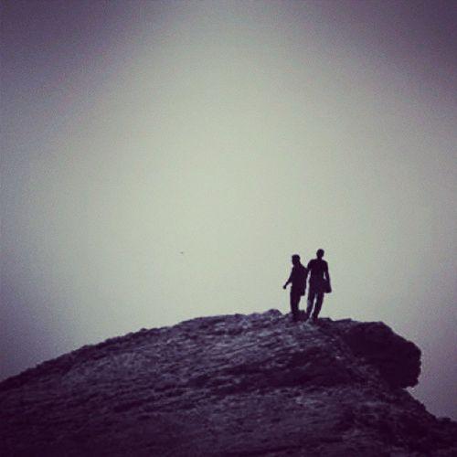 I Tread a Road Trodden by Few ; I climb the hills, I summit the mountains, I trek, I hike, I walk, and I walk alone. travel instatravel hiking trekking coastal hills, where the sea breeze blows... photography, instaphotography, silhouette, shadows
