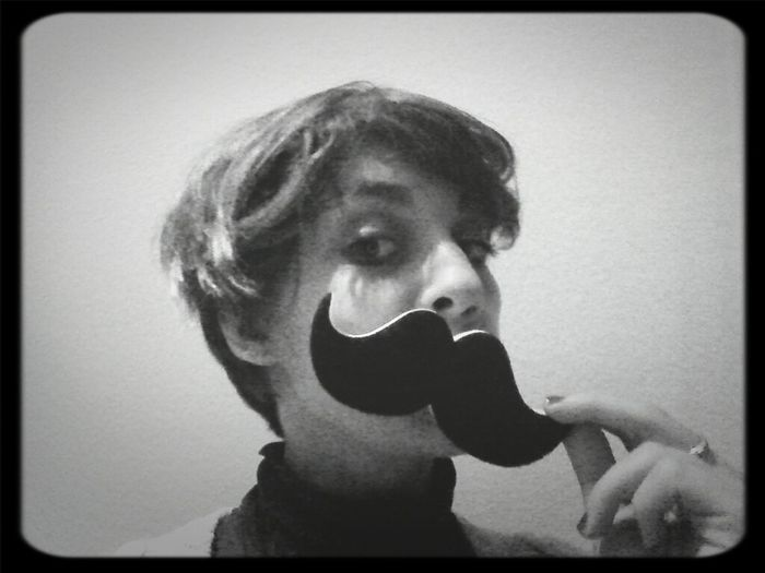 Mustache That's Me Be Stupid