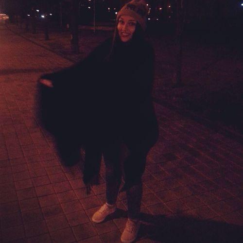ноченька смехуечка прогулка пончо улыбка Чай Smile Girl Night Minsk