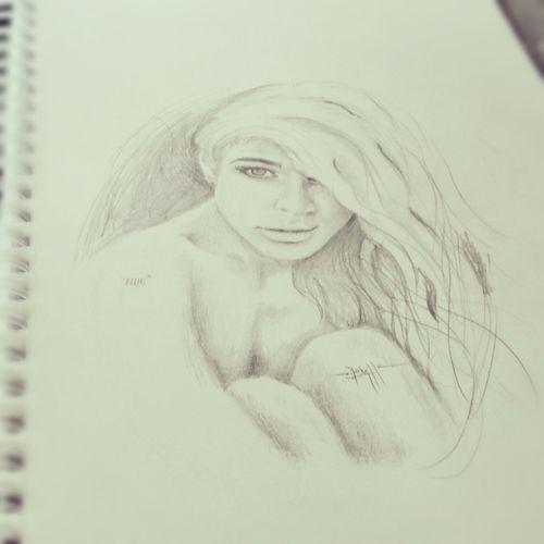 Art Beauty Drawing Portrait