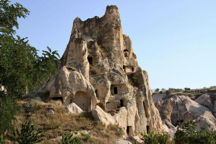 100729 Cappadocia Fairy Chimneys Galpay Göreme Kapadokya Natural Wonders Nevsehir Peribacaları Turkey